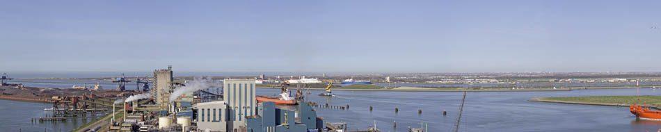 Dintelhaven en Calandkanaal