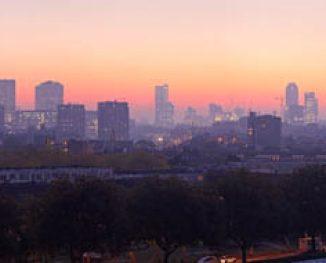Rotterdam gezien vanaf west (2011)