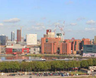 Rotterdam vanaf zuid (2008)