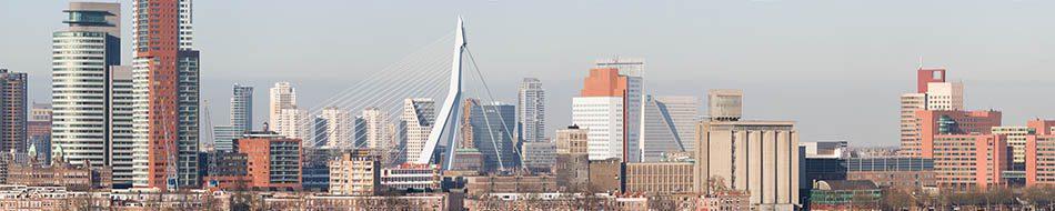 Rotterdam centrum vanaf zuid (2007)