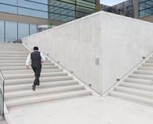 architectuur foto trap