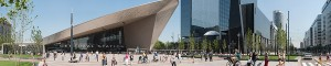 Panorama Centraal Station Rotterdam