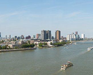Rotterdam vanaf Katendrecht (2015)