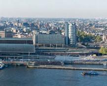 Panorama Amsterdam centrum