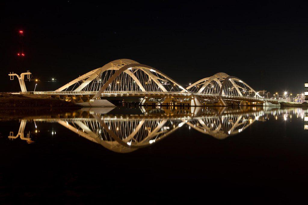 IJbrug Amsterdam fotografie in de nacht