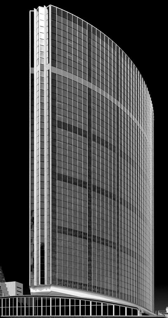 Het WTC gebouw in Rotterdam