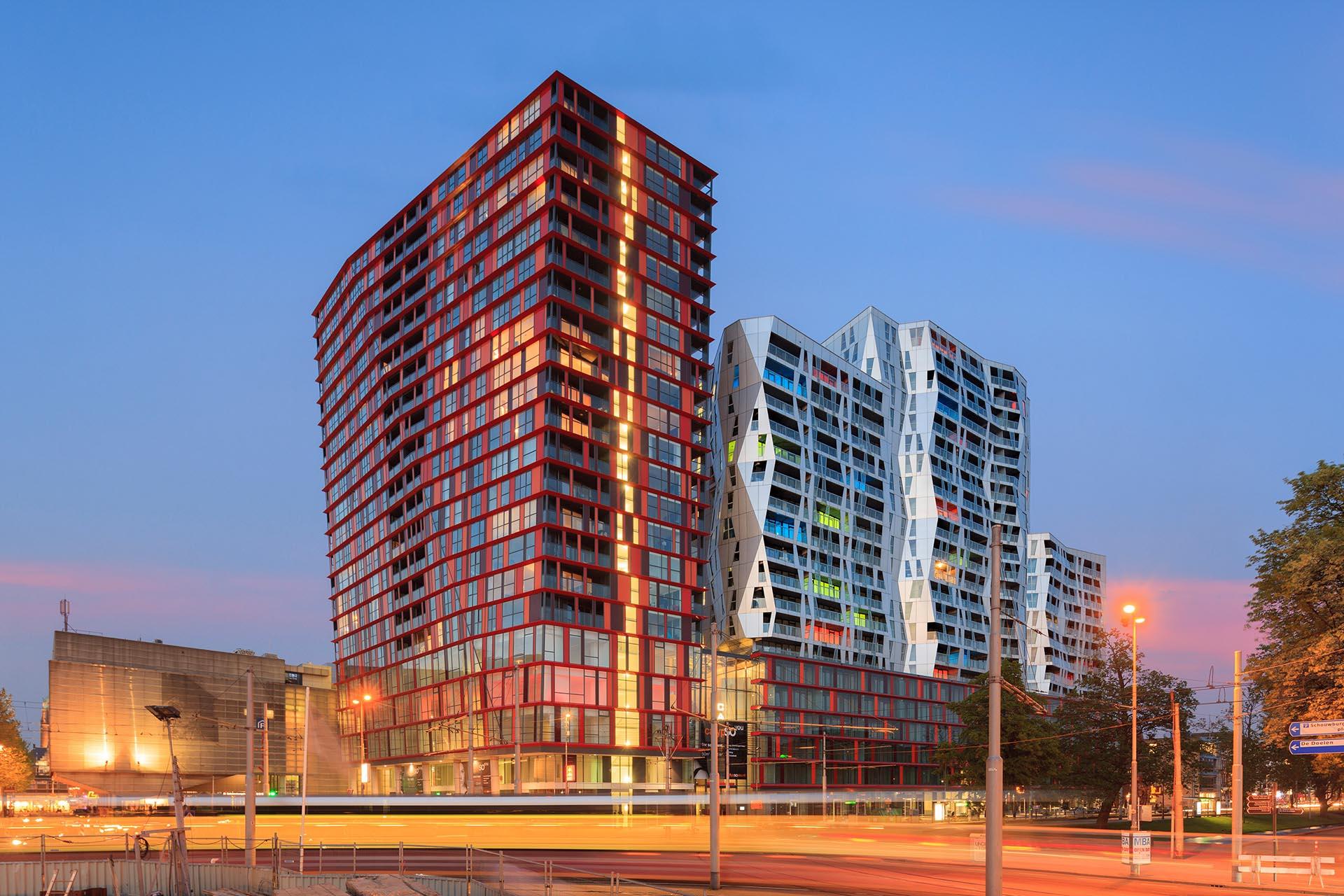 Fotograaf architectuur in Rotterdam