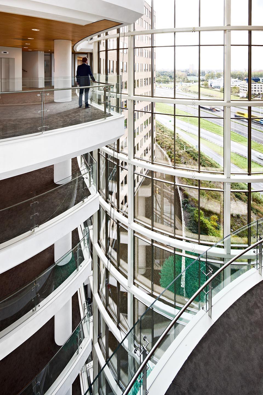 Interieur hal kantoor victoria Rotterdam