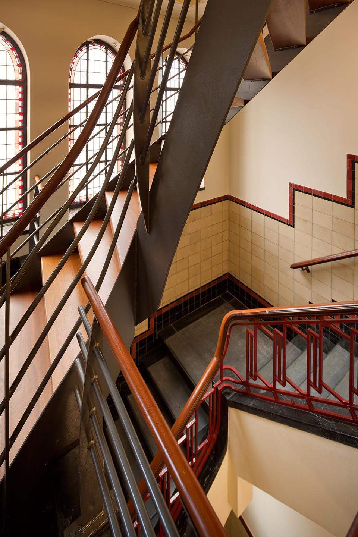 trappenhuis bankgebouw Denhaag