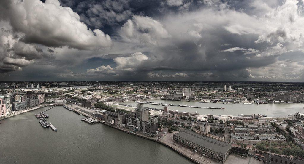 Bui op Rotterdam zuid