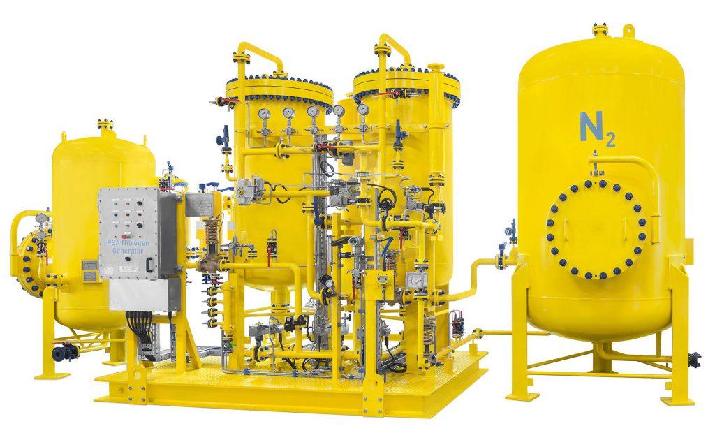 productfoto gemaakt van een droger in werkplaats