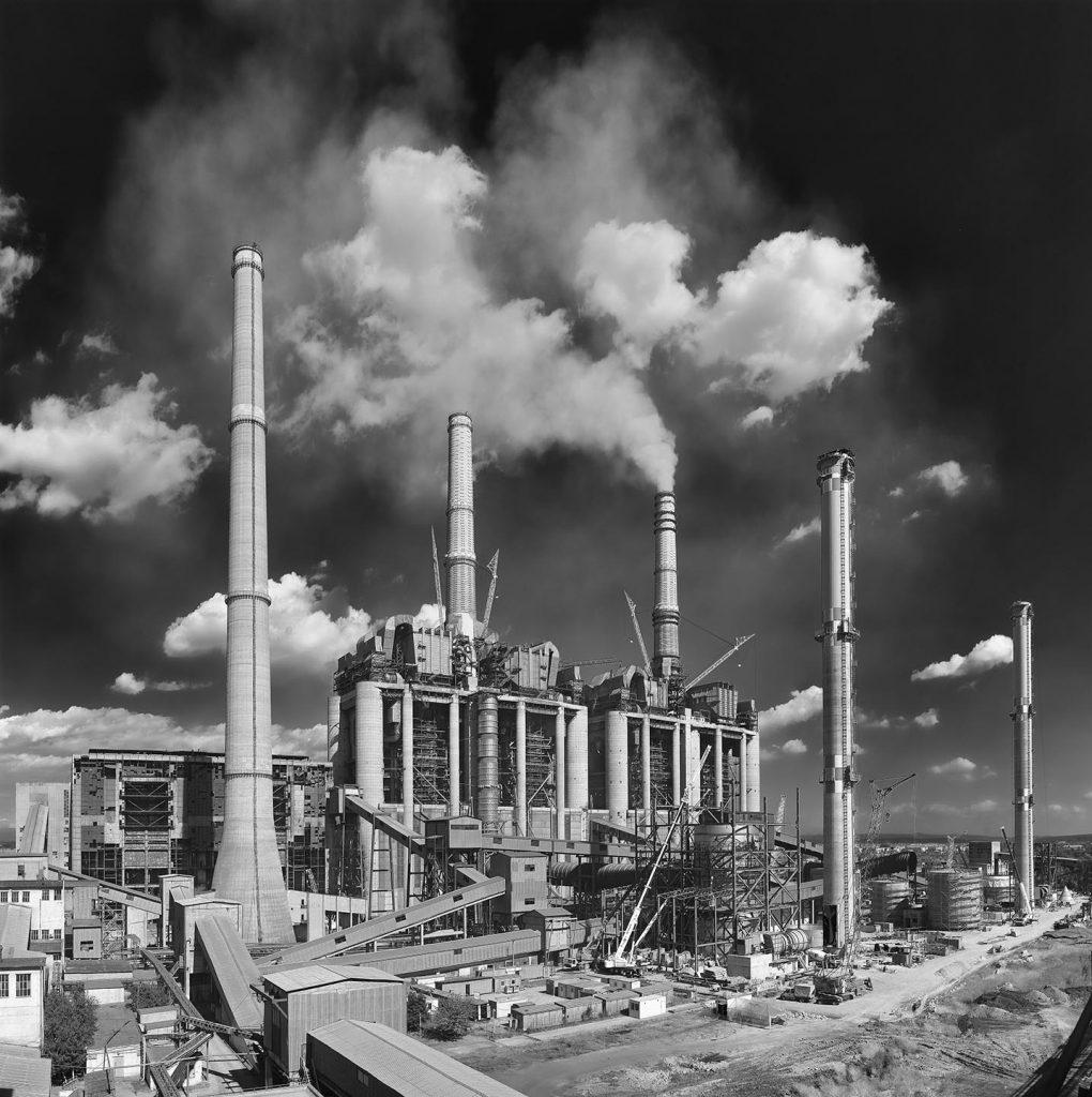 Rovinari steenkoolcentral in Roemenië