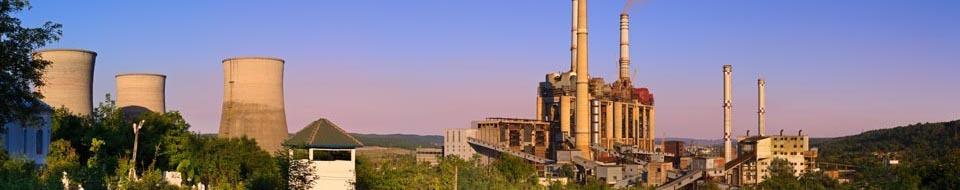 Steenkoolcentrale Rovinari panorama