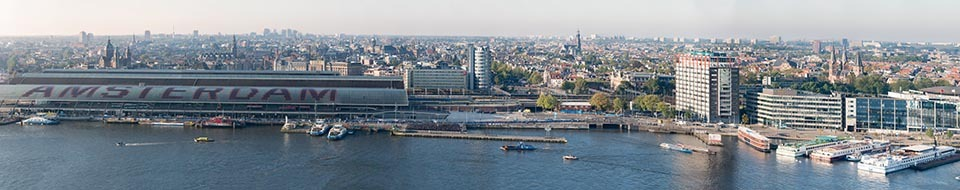 CS Amsterdam panorama