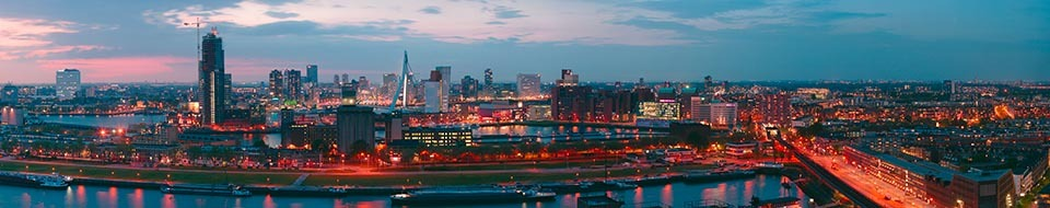 Rotterdam-bij-schemer-panorama-200