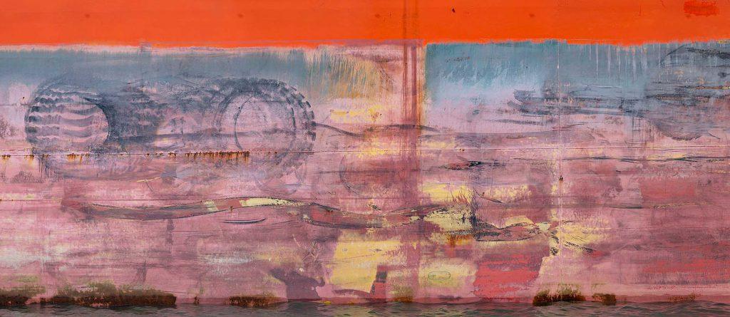 Scheepswand II Fine art
