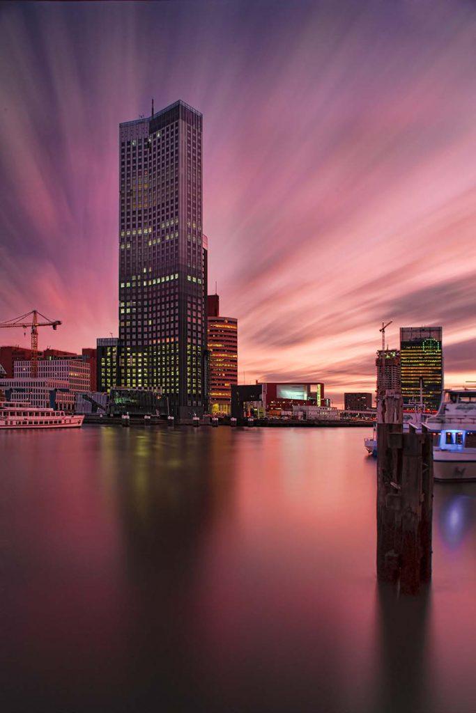 maastoren fotografie Rotterdam