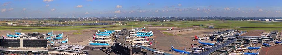 Schiphol panorama